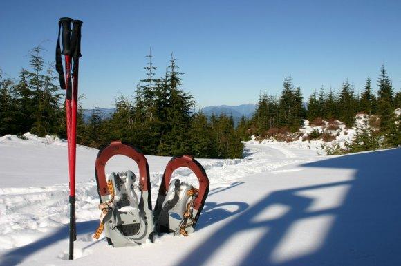 Magasin pour la location de raquette neige pour randonnéesAussois